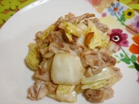 塩麹さん☆漬物で中華☆白菜漬と豚肉炒め!