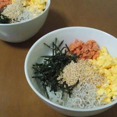 ✿ごまたっぷり カラフル丼✿