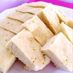 レンジで簡単☆砂糖不使用*りんご蒸しパン