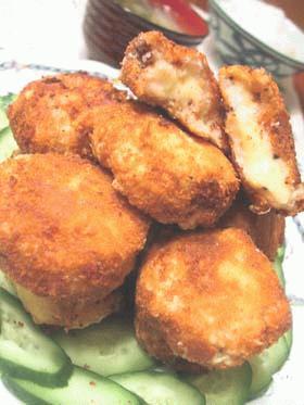 里芋のサーモンチーズコロッケ