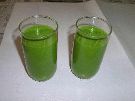 小松菜ジュース