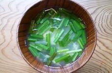 【薬膳レシピ】長芋としらすのスープ