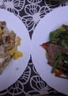 リメイク☆鶏と根菜の煮物でちらし寿司