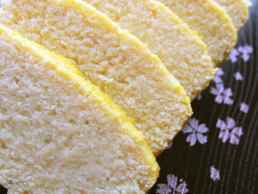 低糖質*おからのパウンドケーキ風①
