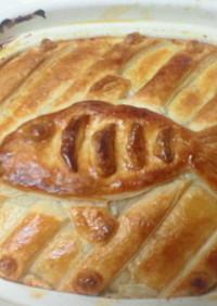 ニシンとかぼちゃのパイの包み焼