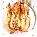 ✿赤海老の鬼殻焼き 味噌マヨ仕立て✿
