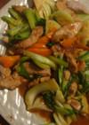 豚ヒレブロック肉で中華炒め