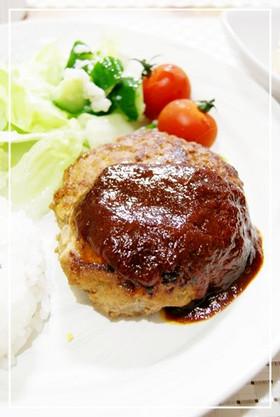 *めちゃウマ★塩麹in豆腐ハンバーグ*