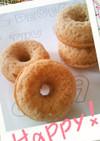 ふんわりきな粉風味の焼きドーナツ