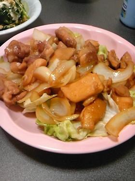 【ヨシダソースで】鶏の照り焼き【簡単】