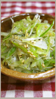 長ねぎナムル@サムギョプサル他韓国料理にの写真