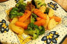 温野菜のアンチョビ&ガーリックサラダ