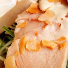 トースターで15分☆塩麹で鶏ハム。