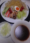 冷やし中華風つけ麺