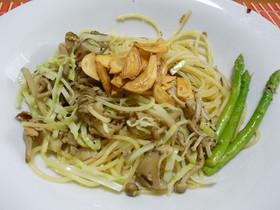 旬の味♪筍を食する(8)ペペロンチーノ★