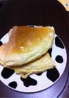 HCM&卵なしでふんわりパンケーキ