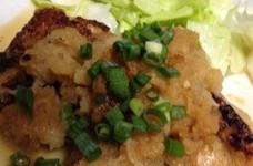 鶏もも肉の塩麹漬け焼き~大根おろし煮