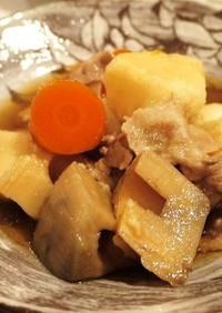 里芋と根菜のコクウマ煮物