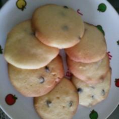 混ぜて焼くだけ!簡単チョコチップクッキー