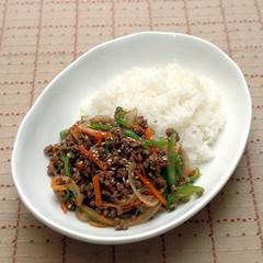 韓国料理ーそぼろブルゴギ丼