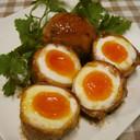 ☆とろ~り半熟卵の豚肉巻き☆
