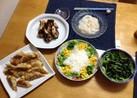 焼き海苔と塩麹de韓国風おひたし
