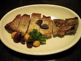 豚ロースのローズマリー焼