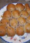 ブルーベリージャムのちぎりパン♪