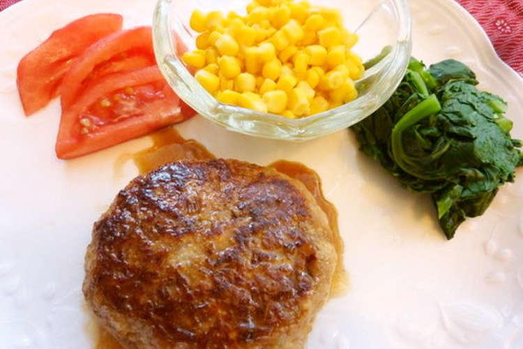 ハンバーグ 豚 ひき肉