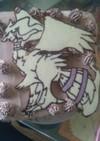 レシラム  キャラケーキ