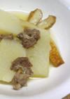 大根と牛すじ肉の煮物