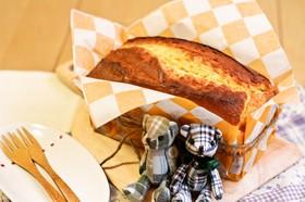 HMで簡単!クリームチーズパウンドケーキ