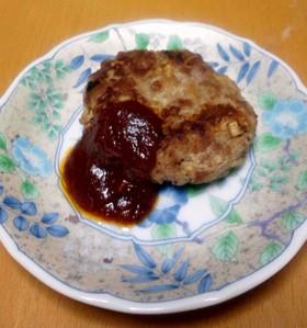 切干大根と絹ごし豆腐のハンバーグ