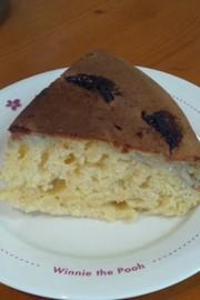 フライパンで作る!簡単バナナケーキの写真
