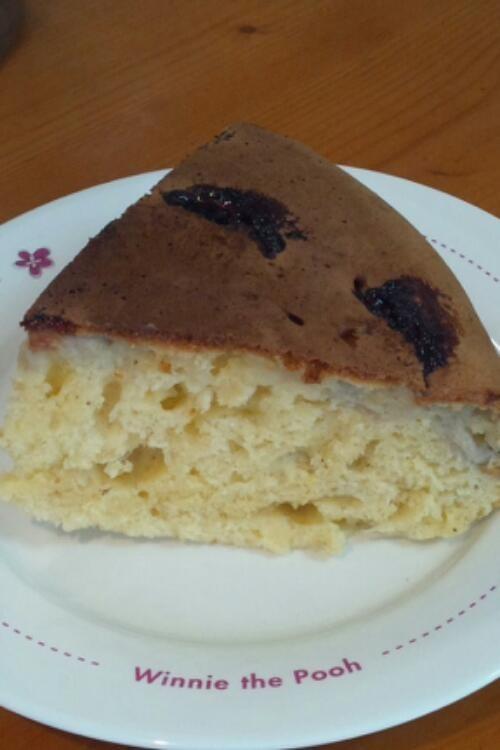 フライパンで作る!簡単バナナケーキ