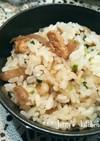 簡単!鶏ごぼう混ぜご飯☆
