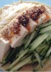 豆乳と豆腐で☆ヘルシー冷し中華