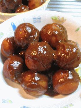 サトイモの甘味噌煮☆
