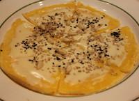 ゴルゴンゾーラチーズとゴマの♡チヂミ