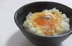 ♡卵かけご飯に魔法の粉♡