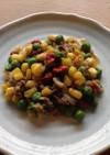 【薬膳レシピ】エンドウ豆と牛肉の炒め