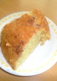 HMと炊飯器で簡単ケーキ☆