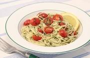 プチトマトの冷製カッペリーニの写真