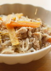 【薬膳レシピ】豚肉と春雨の炒め