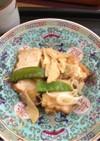 生揚げの牡蠣ソース煮