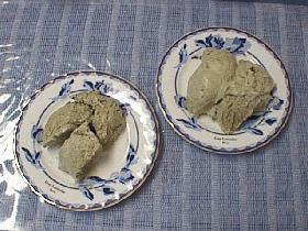 抹茶のイタリアンメレンゲアイス