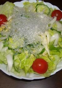プチプチ海藻サラダ