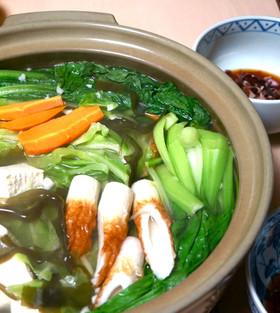 野菜だらけ鍋●ダイエットにカロリーオフ♡