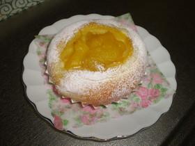 マンゴークリームパン♪