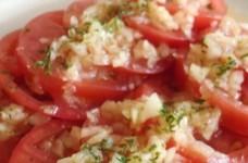 簡単♪新玉ねぎとトマトのさっぱりサラダ
